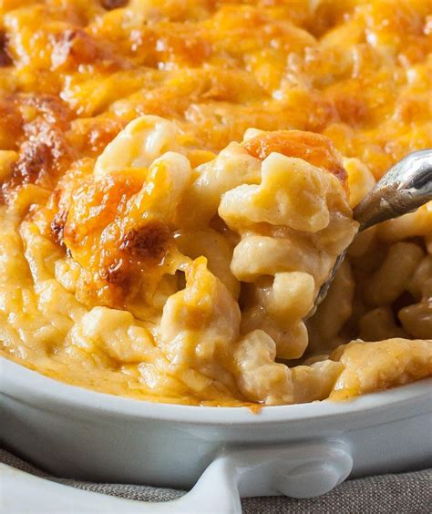 Add macaroni and cook for 7 minutes or until al dente and remove from heat and drain. Perfect Southern Baked Macaroni and Cheese - Basil And Bubbly | Recipe | Best macaroni and ...