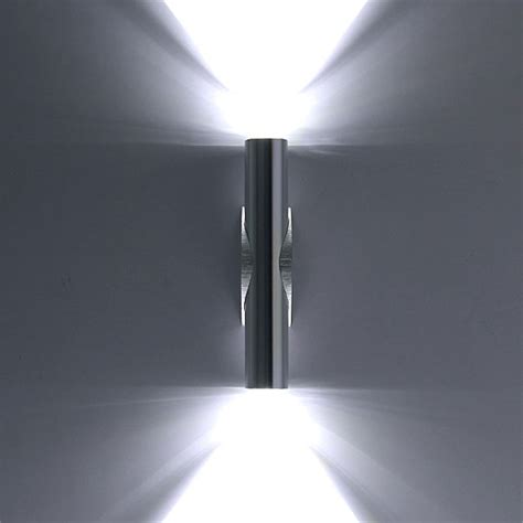 new 2w day white led wall light up down l sconce mirror spot lights f7 ebay