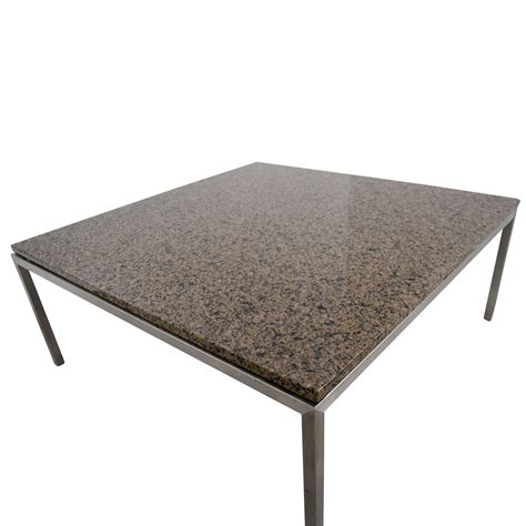room board coffee table 90 off room and board room board square coffee table