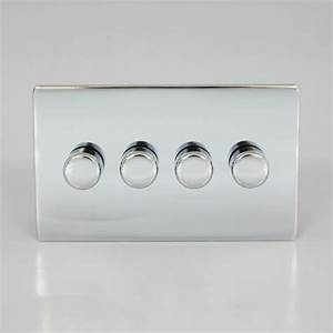 China 4 Gang 2 Way Dimmer Switch