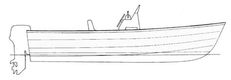 How To Draw A Power Boat by Boat Plans Center Console Boat Plans Self Project