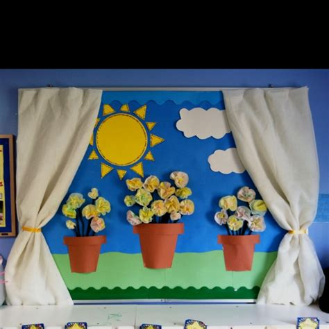bulletin board for preschoolplanet 997 | spring bulletin board idea for preschoolers