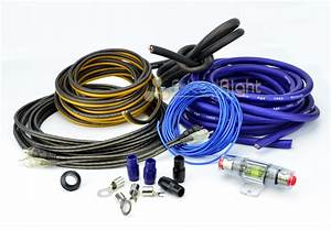 Pro 4 Gauge Amplifier Amp Install Wiring Kit Complete Car