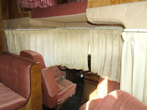 cab curtains side view 87 class c motorhome flickr