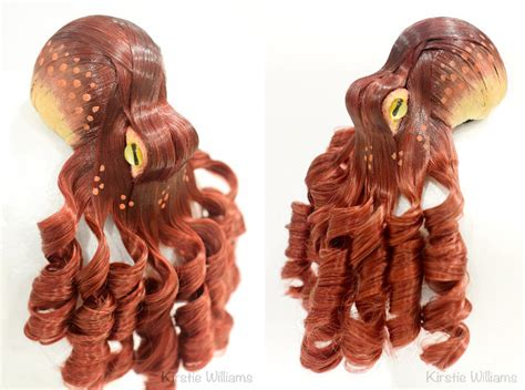 finally synthetic hair octopus hairpieces   sale