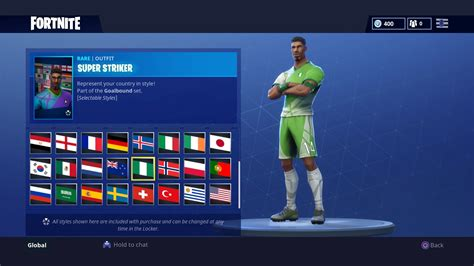 las  camisetas de futbol en fortnite battle royale
