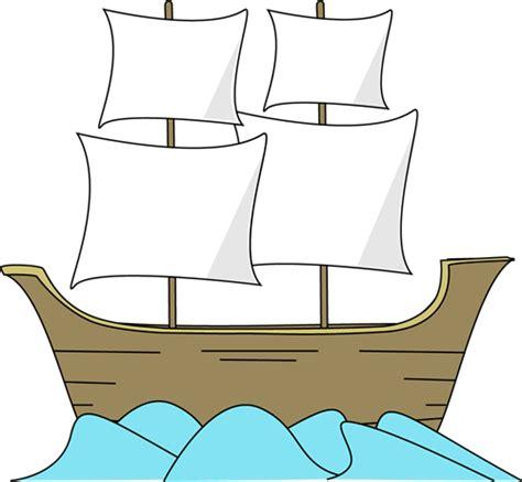 Cartoon Mayflower Boat by Mayflower Clipart