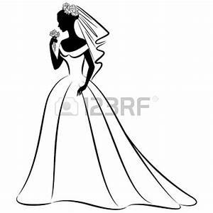 Bride Silhouette Black And | Clipart Panda - Free Clipart ...