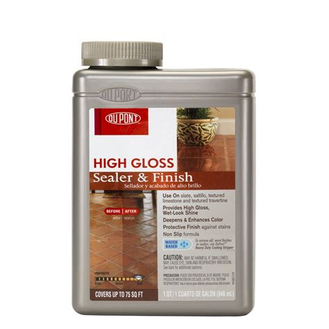 dupont tile sealer finish shop dupont 32 fl oz high gloss sealer finish at lowes