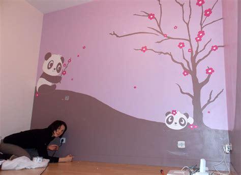 fresque murale chambre fille fresques murales décoration imaygine com bd