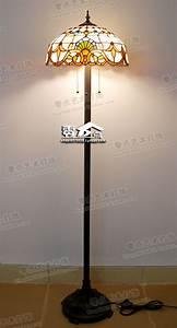 Baroque tiffany living room lamp floor lamp vertical study for Tryphena tiffany floor lamp