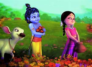 Disney HD Wallpapers: Disney Cartoon Little Krishna HD