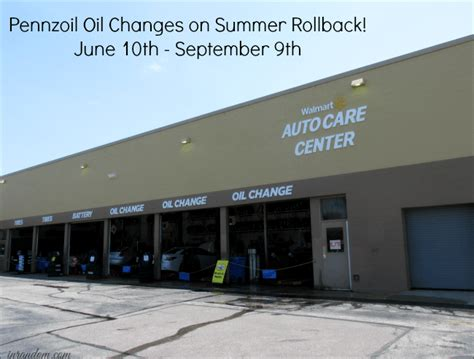 Walmart Automotive Care Center  The Answer To Oil Change