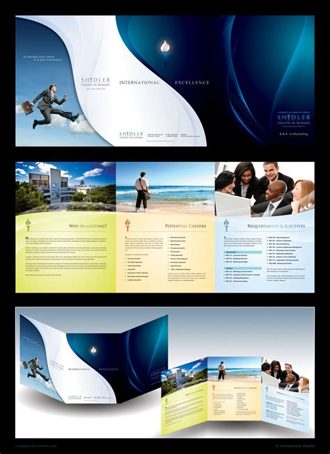 Design Brochure by Inspiring Colorful Brochure Designs The Finished Box