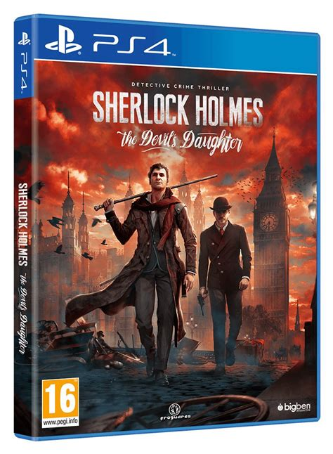 sherlock holmes ps4 daughter devil devils box interrogates release gets date thexboxhub