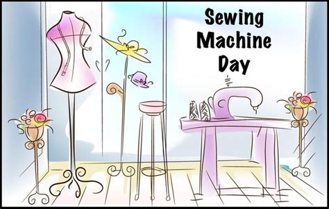 national sewing machine day printable calendar