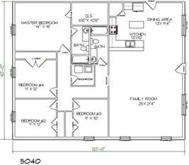 4 bedroom pole barn house floor plans pole barn plan building again house plans