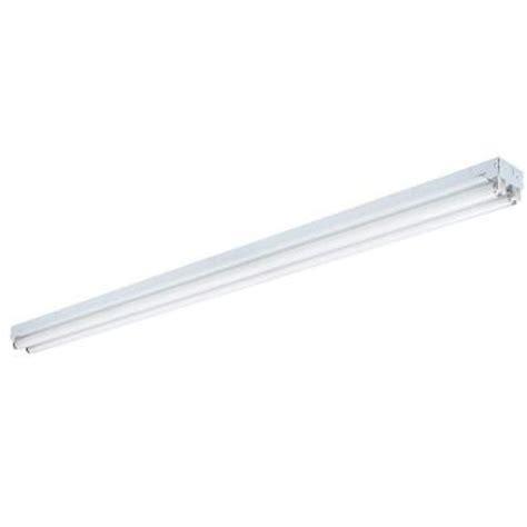 lithonia lighting 8 ft 2 light white fluorescent non