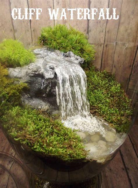add  miniature waterfall pond  river   fairy