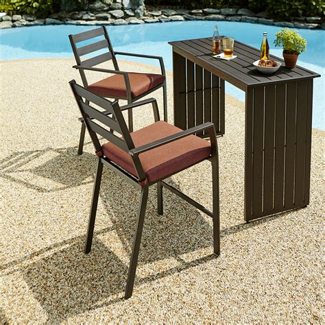 ty pennington patio furniture bar ty pennington brookline 3pc bar set limited availability