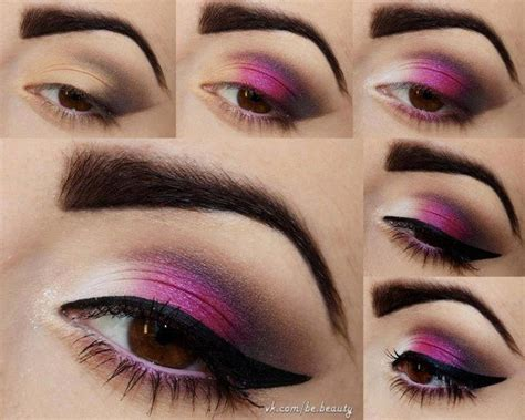 amazing step  step eye makeup tutorials   pretty designs