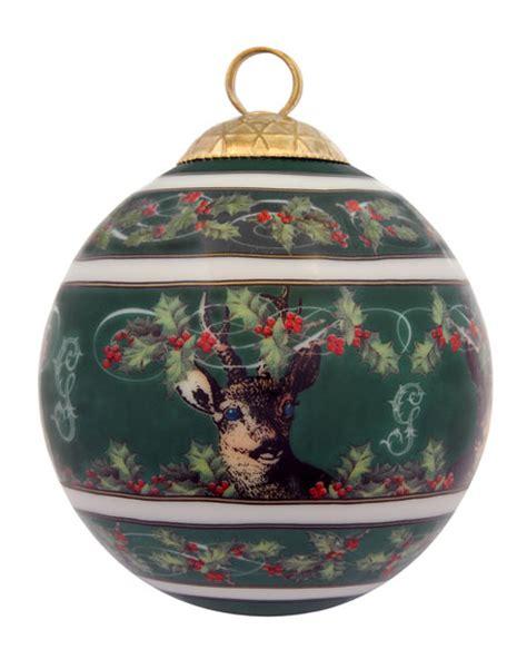 halcyon days gordon castle scotland ball christmas ornament