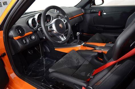 pastel orange porsche cayman  rare cars  sale