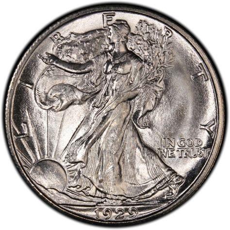 walking liberty half dollar 1929 walking liberty half dollar values and prices past sales coinvalues com