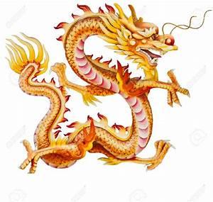 Golden Dragon Clipart - ClipartXtras