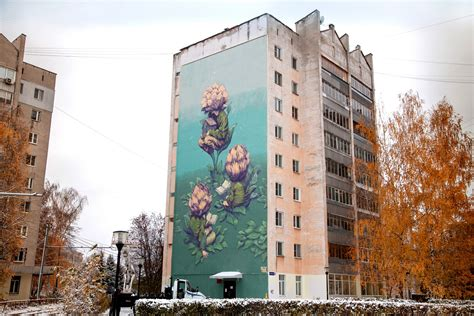fresque murale street art rustam qbic  la boite verte