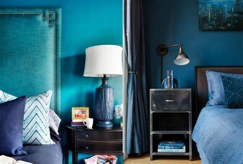 le de chevet deco d 233 co bleu canard bleu paon ou bleu p 233 trole