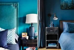 Meuble Bleu Canard : d co bleu canard bleu paon ou bleu p trole ~ Teatrodelosmanantiales.com Idées de Décoration