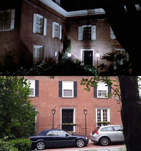 The Exorcist House - then now locations the exorcist