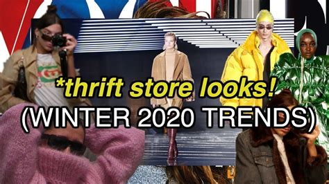 thrift thrifted outfit styling trends winter