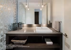 Small Bathroom Vanity Backsplash Ideas by Custom Canal Condo Contemporary Powder Room Ottawa