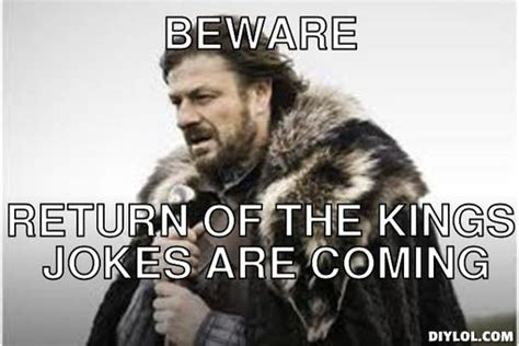 Meme Creator Winter Is Coming - wilderness walk one day more edition hockey wilderness