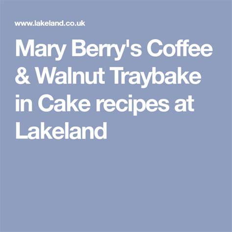 Made using the mary berry with lakeland traybake. Mary Berry's Coffee & Walnut Traybake Recipe | Mary berry, Tray bake recipes, Amazing chocolate ...