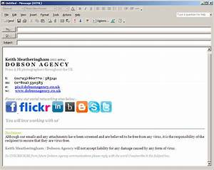email signature templates for outlook 2010 28 images With outlook 2010 signature template