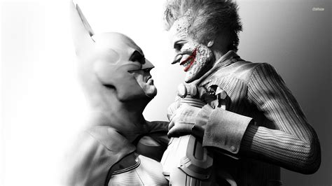 Batman And Joker  Batmanarkham City Wallpaper Game