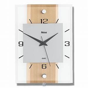 Designer Uhr Wand : quarz wanduhr aus glas design quarzuhr wand uhr eckig ~ Michelbontemps.com Haus und Dekorationen