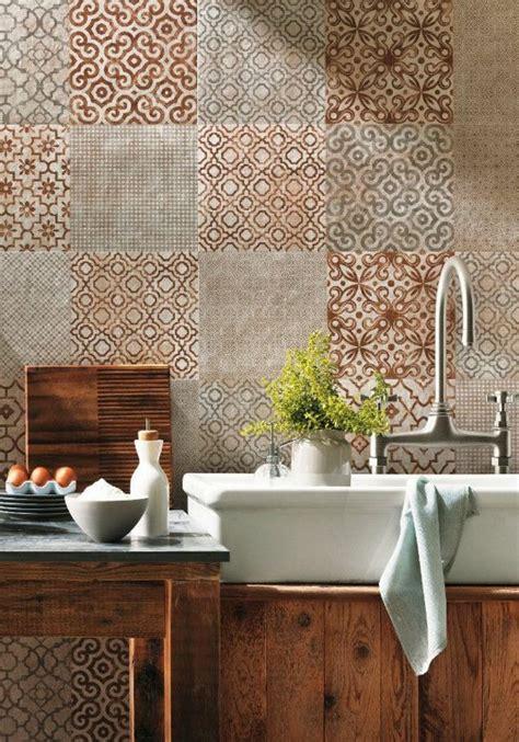 carrelage mur cuisine le plus beau carrelage dans la salle de bain style rétro