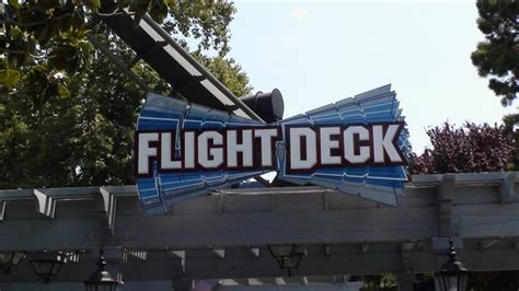 flight deck troline park hours california s great america theme park review s 2009 west