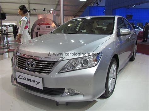 toyota camry launched  india price features