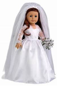 princess kate clothes for 18 inch doll royal wedding With american girl doll wedding dress