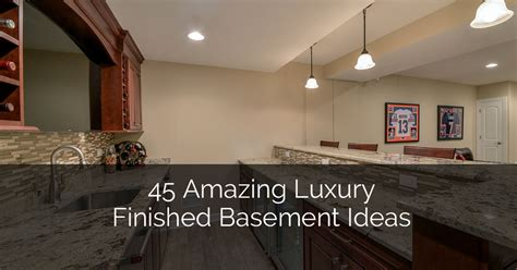 Home Design Ideas Basement by 45 Amazing Luxury Finished Basement Ideas Home