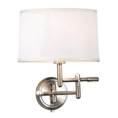 home decorators collection 1 light white wall pivoter