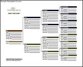 Free Family Tree Chart Templates