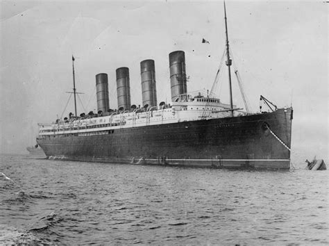 100 years since the sinking of the rms lusitania