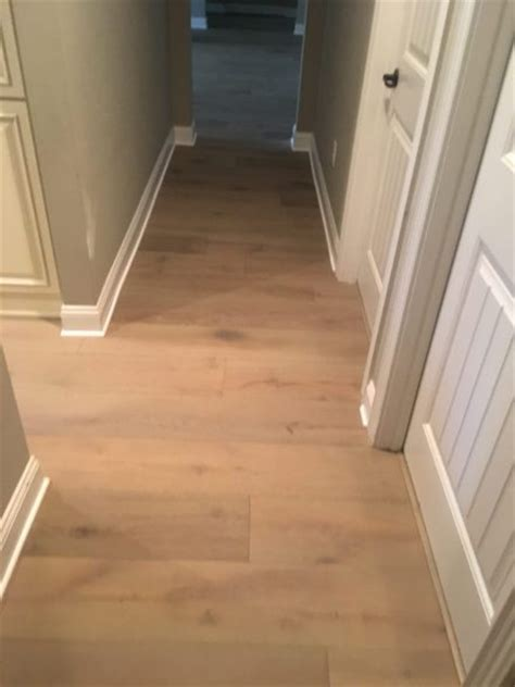 Wire Brushed Oak Hardwood Flooring Install   St. Augustine FL