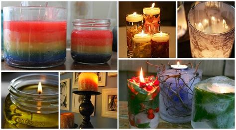 Unique Candles Creative Design Ideas 12 by 31 Beautiful Diy Candle Ideas